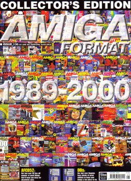 Last issue of Amiga Format